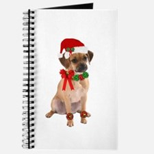 Christmas Puggle Journal