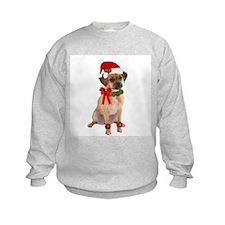 Christmas Puggle Sweatshirt