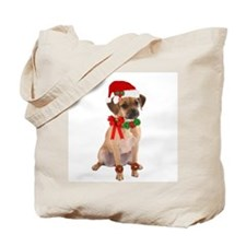 Christmas Puggle Tote Bag
