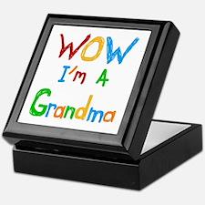 WOW I'm a Grandma Keepsake Box