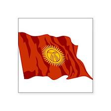 "Kyrgyzstan-2-[Converted].jpg Square Sticker 3"" x 3"