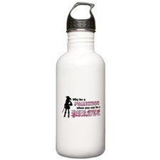 why be princess rectangle Water Bottle