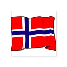 "Norway-3-[Converted].jpg Square Sticker 3"" x 3"""
