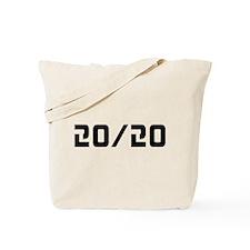 20/20 Vision Tote Bag