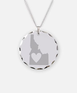 Heart Idaho Necklace