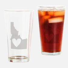 Heart Idaho Drinking Glass