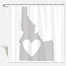 Heart Idaho Shower Curtain