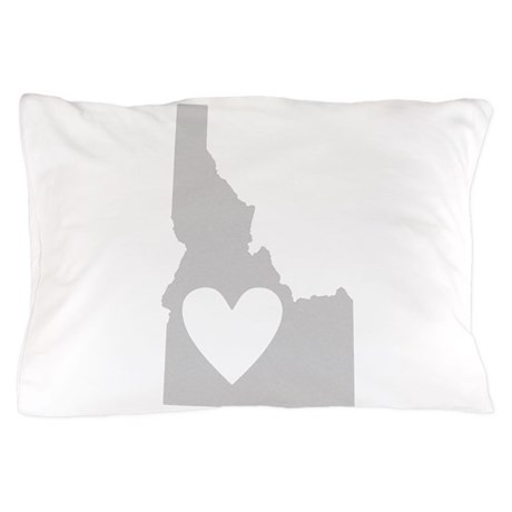 Heart Idaho Pillow Case
