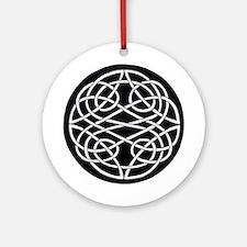 Celtic Knot 28 Ornament (Round)