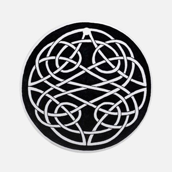 Celtic Knot 28 Ornament (Round)