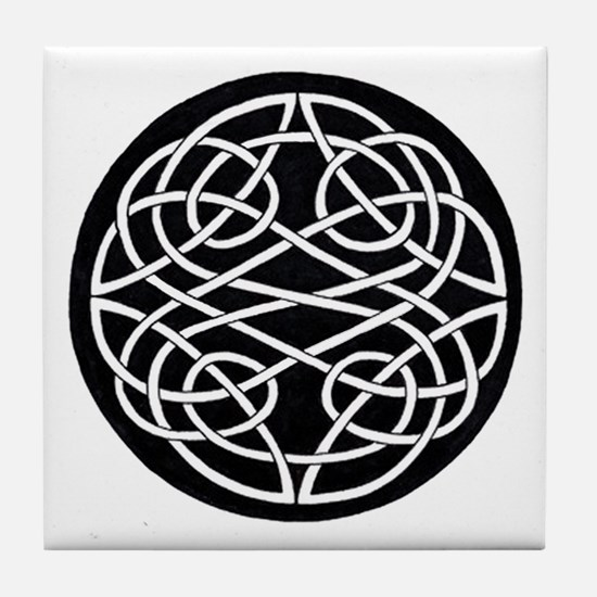 Celtic Knot 28 Tile Coaster