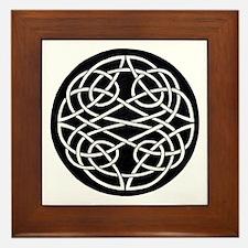 Celtic Knot 28 Framed Tile