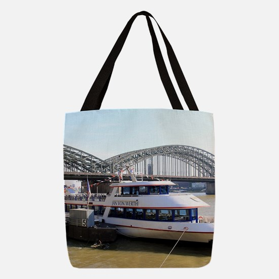 Hohenzollern Bridge, Cologne, G Polyester Tote Bag