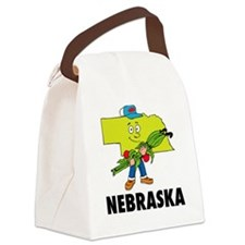 Nebraska Canvas Lunch Bag