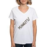 Peanuts! Women's V-Neck T-Shirt