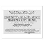 1st Methadone Conference Ad Poster
