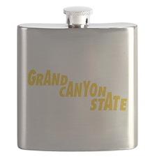 Arizona State Nickname Flask