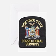 New York Corrections Greeting Cards (Pk of 10)