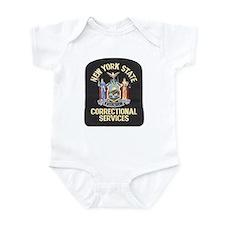 New York Corrections Infant Bodysuit