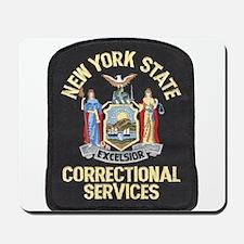 New York Corrections Mousepad