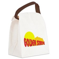 California State Nickname Canvas Lunch Bag