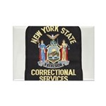 New York Corrections Rectangle Magnet