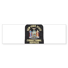 New York Corrections Bumper Bumper Sticker