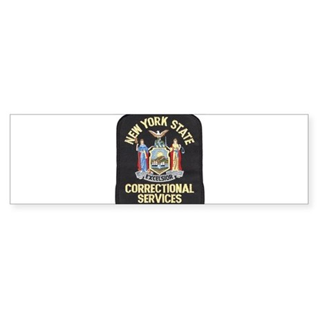 New York Corrections Bumper Sticker