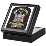 New York Corrections Keepsake Box