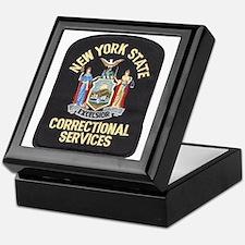 New York Corrections Keepsake Box