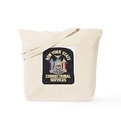 New York Corrections Tote Bag