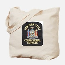 New York Corrections Tote Bag