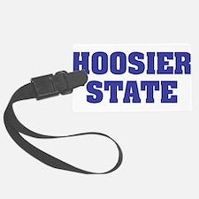 Indiana State Nickname Luggage Tag