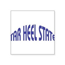 "North Carolina State Nickname Square Sticker 3"" x"