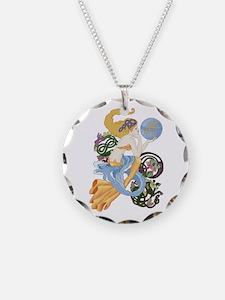 Celtic Afor Aquarius Mermaid Necklace