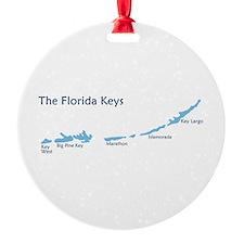 Florida Keys - Map Design. Ornament
