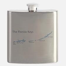 Florida Keys - Map Design. Flask