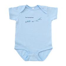 Florida Keys - Map Design. Infant Bodysuit