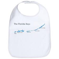 Florida Keys - Map Design. Bib