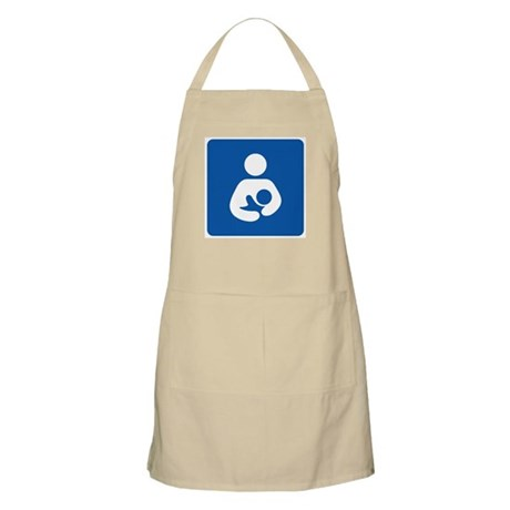 International Breastfeeding Symbol BBQ Apron