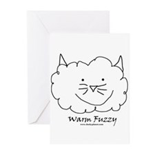 Warm Fuzzy Cat Greeting Cards (Pk of 10)