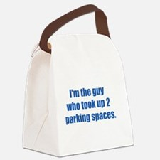 ITG...took 2 parking spaces. Canvas Lunch Bag