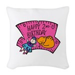 2nd-Birthday-02-[Converted].png Woven Throw Pillow