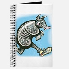 Cute Texas armadillo Journal