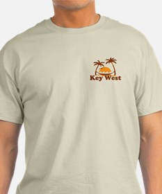 Key West - Palm Trees Design. T-Shirt