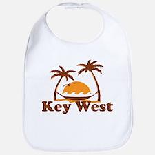 Key West - Palm Trees Design. Bib