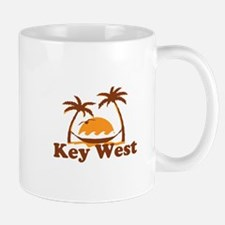 Key West - Palm Trees Design. Mug