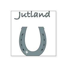 "jutland Square Sticker 3"" x 3"""