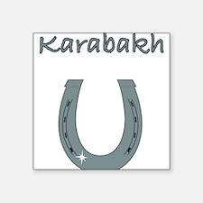 """karabakh Square Sticker 3"""" x 3"""""""