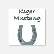 """kiger mustang Square Sticker 3"""" x 3"""""""